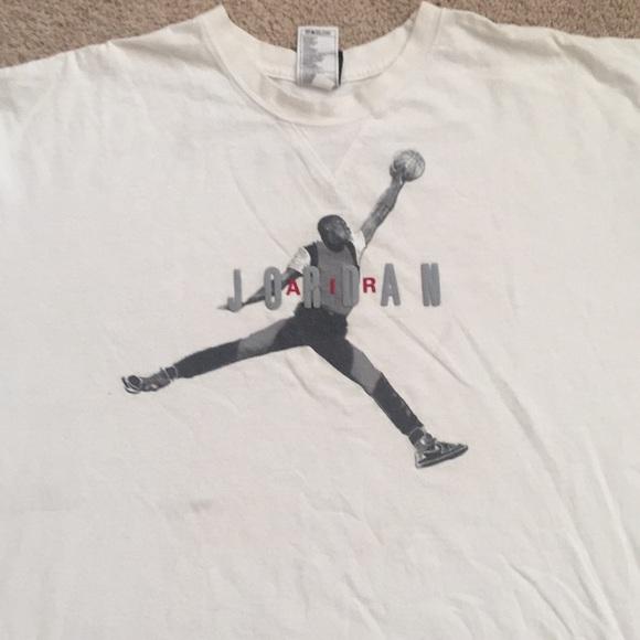 wyprzedaż resztek magazynowych kupować nowe sprzedawca hurtowy White air Jordan t-shirt